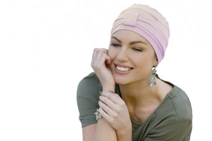 ellie pink headwear for cancer patients