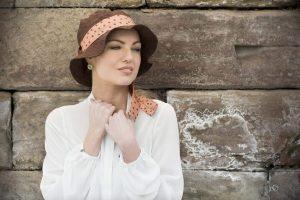 lola brown chemo sun hat
