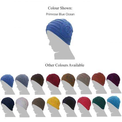 Chemo Hats for Teenage Girls - Primrose Blue Ocean