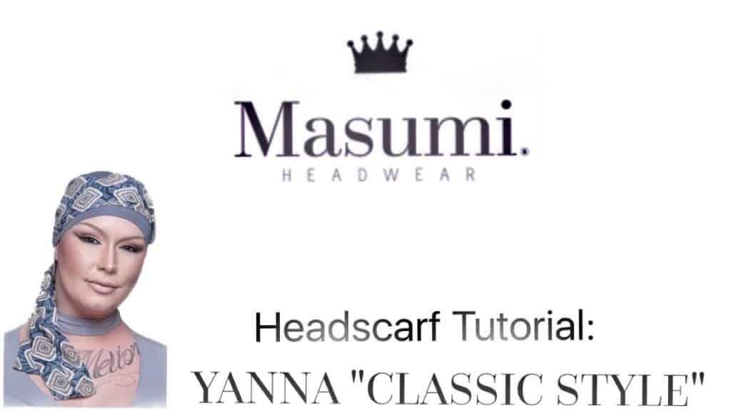 headscarf tutorial video capture