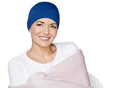 chemo Sleeping Hats Navy