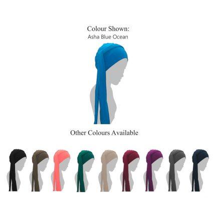 tied chemo hat asha color variants