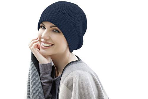 blue chemo beanie ari