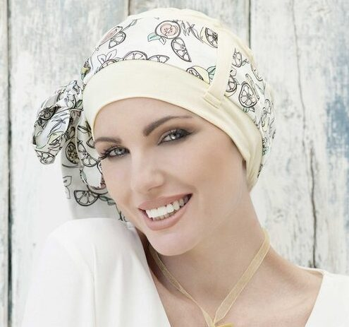 Yanna Yellow Lemon Head wraps for women