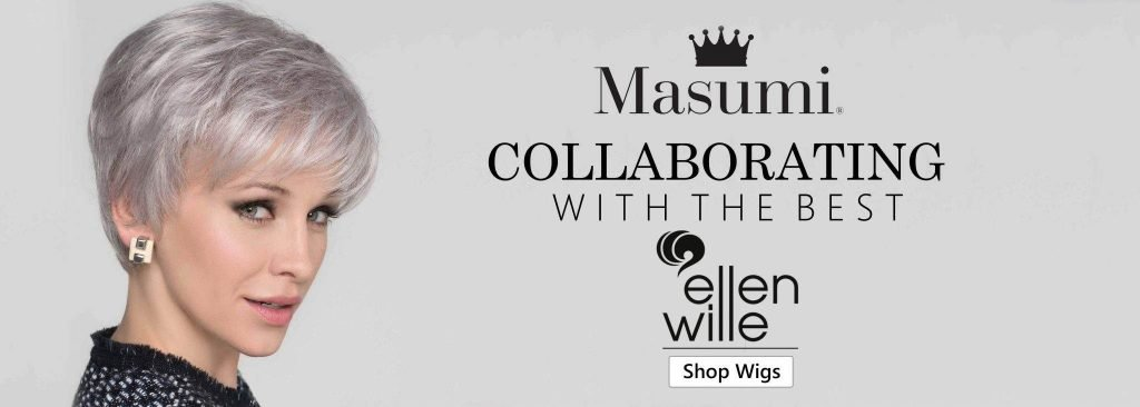 Banner for women wigs