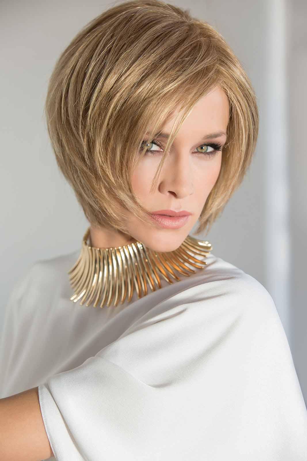ladies wigs mid length blonde