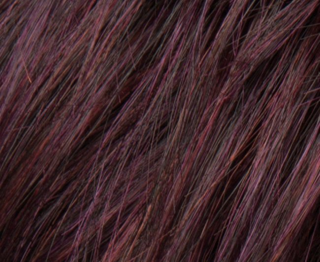 hot aubergine mix wig