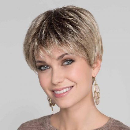 rooted wig short length