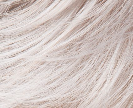 silver mix wig