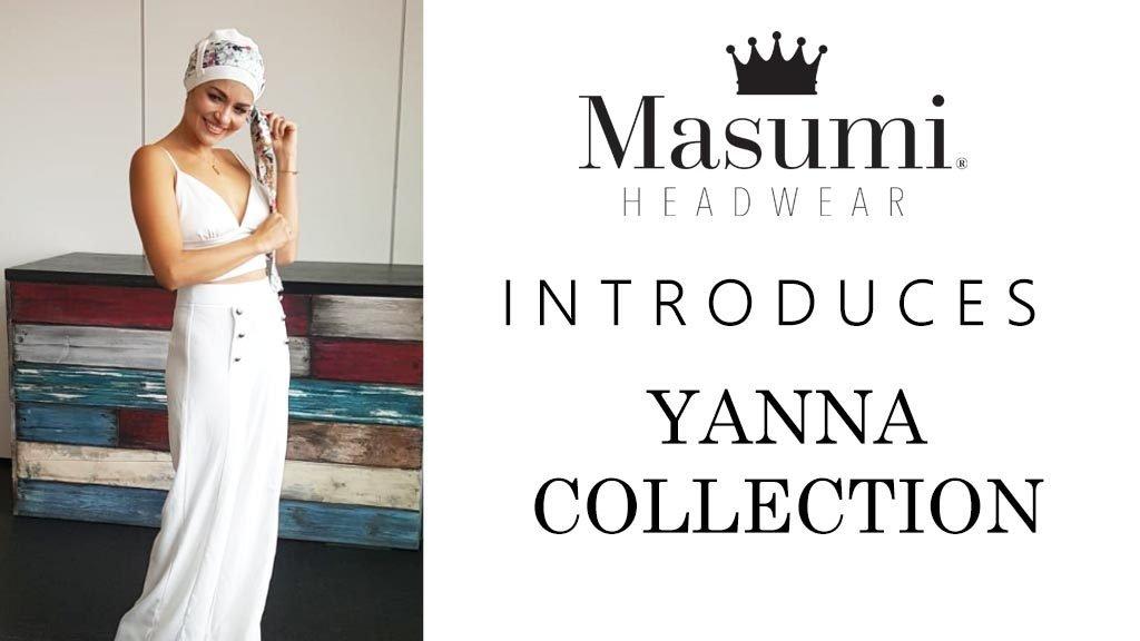 Chemo headwear video for yanna collection_ Masumi