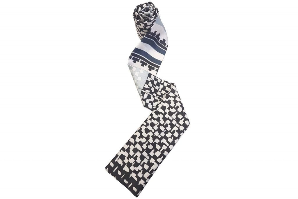 Chemo Scarves Black Midnight Pearl