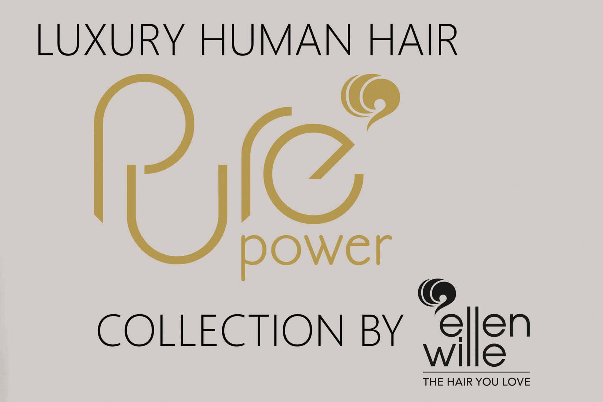 Human Hair Wigs Pure Power Collection by Ellen Wille