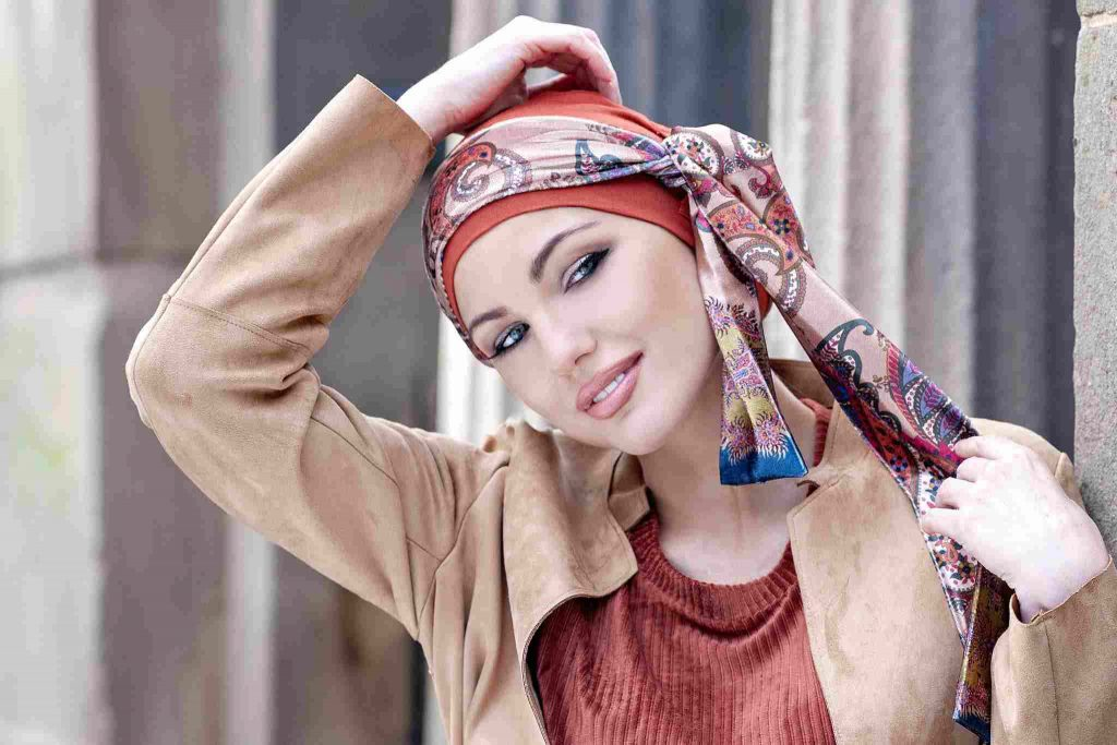 Yanna headwear turban Scarves for hair loss