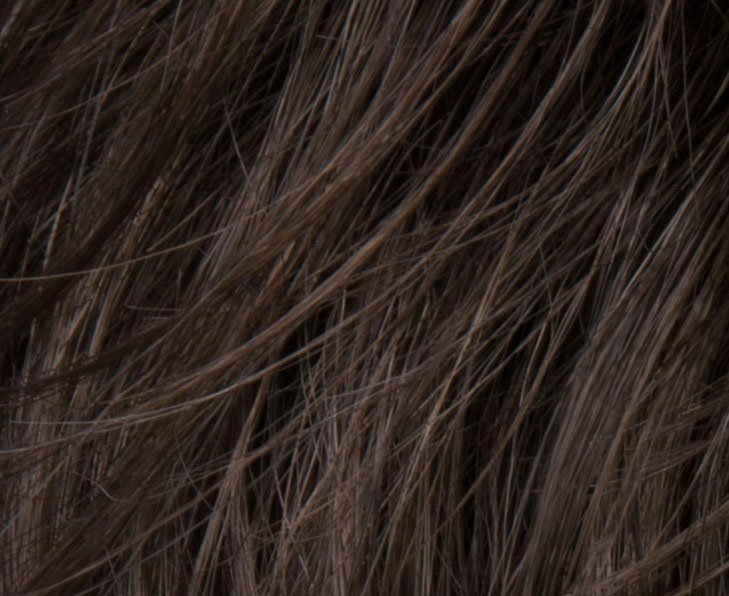 Coffeebrown color Hair Swatch