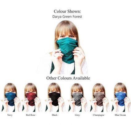 Darya multifunctional headscarf colors