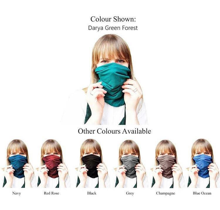 Darya multifunctional headscarf colors