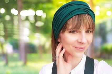 Darya multipurpose hair scarf