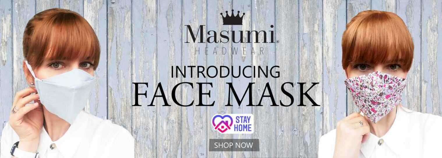 cloth face mask banner