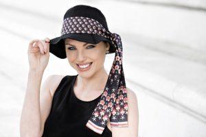 Lola Black Scarlet Florenza Masumi Headwear