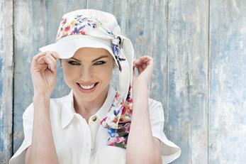 Lola white summertime Masumi Headwear