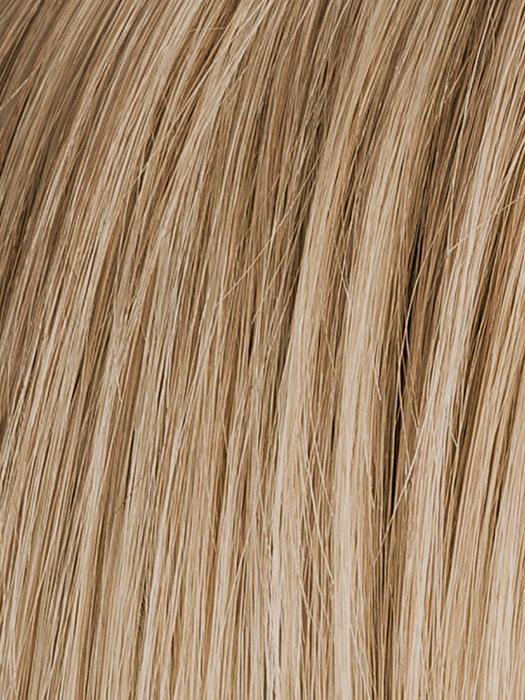 sandy-blonde rooted