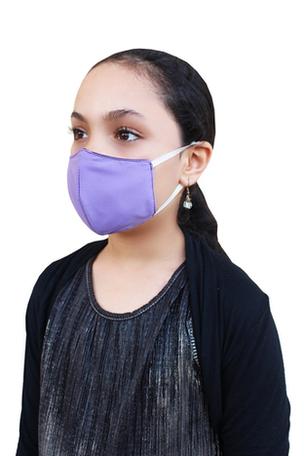 purple face masks for children 3