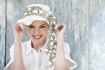 Lola White Golden Chain